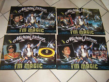 I'M MAGIC MICHAEL JACKSON  SET COMPLETO 4 FOTOBUSTE 1 EDIZIONE  The Wiz.