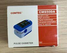 Contec Pulse Oximeter Cms50da New In Box Finger Oxygen Free Ship P4