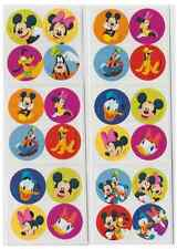 "80 Mickey Mouse and Disney Pals Mini Stickers, 1.2"" Round Each, Party Favors"