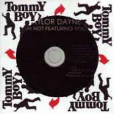 Taylor Dayne: I'm Not Featuring You PROMO w/ Artwork MUSIC AUDIO CD Remixes NEW