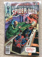 Marvel DC comic Spectacular Spiderman #45 - Fine to VF