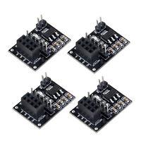 4pcs NRF24L01+Wireless Module with Breakout Adapter 3.3V Regulator On-board NEW