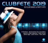 CLUBFETE 2019 (63 CLUB DANCE & PARTY HITS) DIGIPAK  3 CD NEU