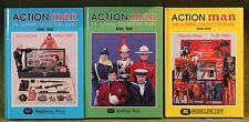 Original Vintage Action man Livres volume 1-2-3 Ultimate Collectors Guide GI Joe