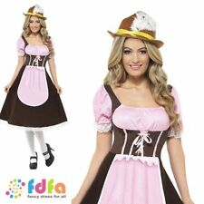 Smiffys Oktoberfest Synthetic Fancy Dress Complete Outfits