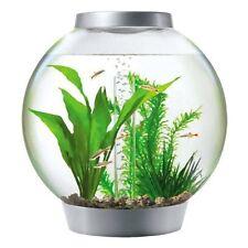Biorb 30 Litre Silver Tropical Aquarium Bowl With Heater Fish Tank