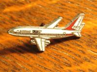 Boeing 737 Lapel Pin - Vintage Jet Airplane Aviation Pilot Stewardess Badge Pin