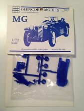 Glencoe MG TC 1/72 scale  Mint Bagged Unbuilt Plastic Kit from 1994 - Blue