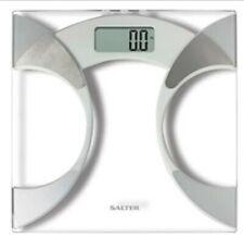 Salter Slim Analyser Bathroom Scales, Measure Weight BMI Body Fat ~ bnib