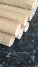 "PACK OF 5 Wooden Broom Handles 5ft x1-1/8"" (1500 x 28mm)sweep brush sweeping PK"