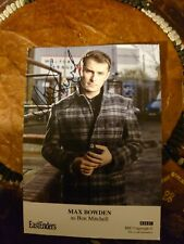 More details for max bowden, ben mitchell signed eastenders cast card