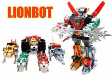 New Lion bot 1980 (Taiwan version) Chogokin Die-Cast Metal 5 in 1 Robot (No Box)