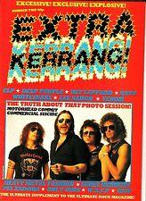 Extra Kerrang! #2 Motorhead Deep Purple Def Leppard Whitesnake Pia Zadora