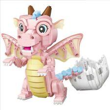 LOZ 771pcs Mini building Blocks baby dragon animal lovely girls Toys