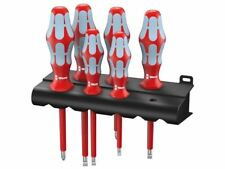 Wera - Kraftform Plus VDE Stainless Steel Screwdriver Set of 6 PZ / SL