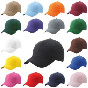 Baseball adustable cap mens hat summer sun womens caps custom text plain cotton
