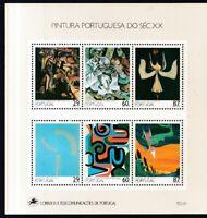 Portugal 1989 postfrisch Block MiNr. 68  Gemälde des 20. Jahrhunderts