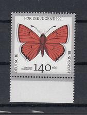 BRD Briefmarken 1991 Schmetterlinge Mi.Nr.1519** postfrisch Rand