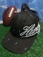 Hurley black small to medium Flex fit Fitted Hat Cap H5