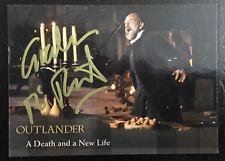Outlander GRAHAM MCTAVISH SIGNED Card