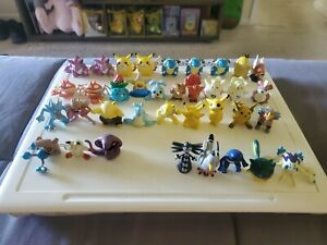 Lot of 36 Pokemon Vintage TOMY  PVC Action Figures Collection Toys 1998