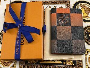 Louis Vuitton Orange Damier Graphite Giant Canvas N40422 Pocket Organizer