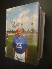 54144 Peter Ducke FC Carl Zeiss DDR SUPERIORE LEGA ORIGINALE FIRMATO autografo foto