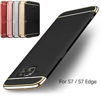 3 in 1 360° Shockproof Protective Hard Case Cover For Samsung Galaxy S7/S7 Edge