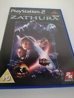 Playstation 2 ps2 games ZATHURA Complete Manual Family kids Game Console FREE PP