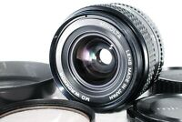 Minolta MD W.Rokkor 28mm f2.8 Wide angle Lens w/Hood [Excellent++] from JAPAN