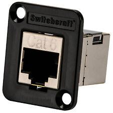 Switchcraft EHRJ45P6S EH Series RJ45 Cat 6 Shielded Feedthru