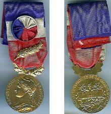 Médaille - Travail sécurité sociale doré E.Berceot 1967