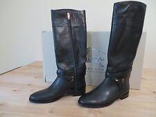 BurberryHouse Rockyford  Black Leather  Boot / 37.5 Eur MSRP $ 895.00