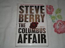 The Columbus Affair by Steve Berry   *Signed*    -RH-