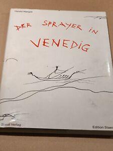 """Naegeli, Erstausgabe 1991 """"Der Sprayer in Venedig"""" , signiert /Widmung"""