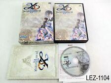Ys The Ark of Napishtim Japanese Import PC Game Boxed Version Windows Vista Ver
