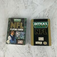1993 DITKA'S PICKS NFL Playing Cards, Bicycle Sports Collection No. 330 Complete