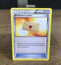 Professor's Letter 123/146 XY - Uncommon Pokemon Card