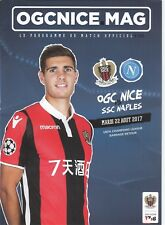 OGC Nice v  SSC Naples 2017/18 (22 Aug) Champions League Play-Off