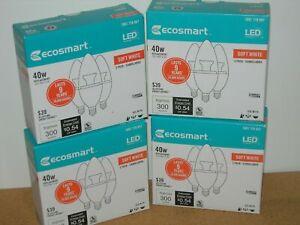 3 Pack Ecosmart 4.5 watt LED Candlabra Dimmable bulb (40 watt replacement) / 646