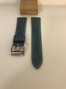 FOSSIL LEATHER STRAP 22mm