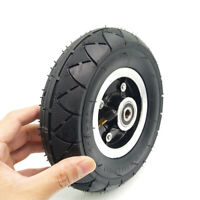 Pneumatic Mountainboard Wheel, 200mm X 50mm (8) With Hub And 10mm Bearing