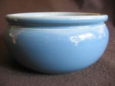 Earthenware Art Nouveau Blue Pottery