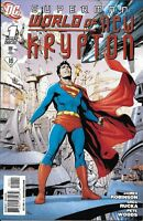Superman Comic 1 World Of New Krypton Cover A Gary Frank First Print 2009 DC
