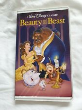 Disney Beauty And The Beast VHS Notebook - Brand New