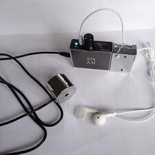 High Sensitive voice bug ear listen through wall device microphoe +record module