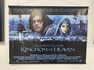 Kingdom of Heaven , Double Sided Original UK Quad Sheet Movie Poster