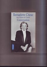 Bernadette Chirac Conversation avec Patrick de Carolis