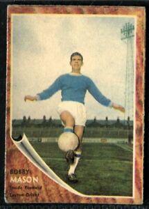 A&BC Gum, FOOTBALLERS, Make A Photo, 1963, Bobby Mason, Leyton Orient, #48