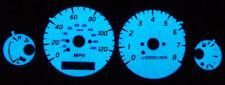 Blue / Green Glow Gauge Face Overlay For 2000 2001 2002 2003 2004 Nissan Sentra